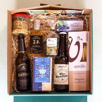 Waldviertler Geschenkbox Mann Sein