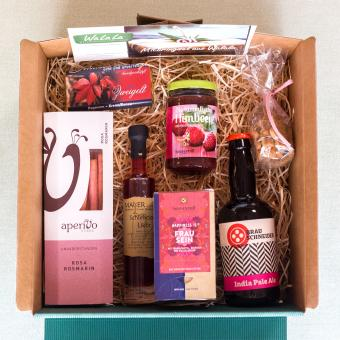 Waldviertlel Geschenkbox  rosa - Frau sein