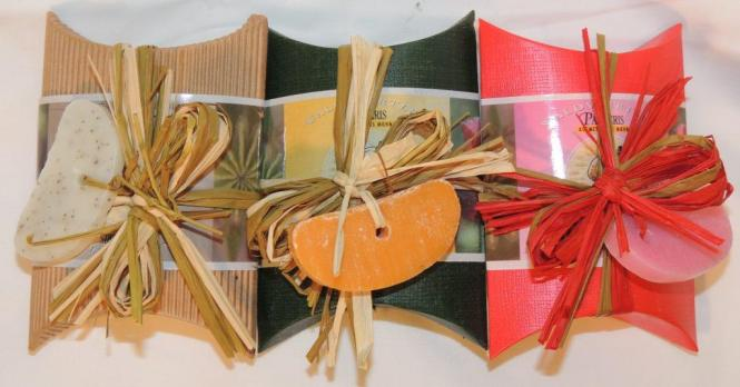 Mohnölseifen in Geschenksverpackung hochwertige Mohnölseifen